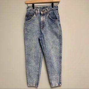 Vintage LEE Size 7 P High Rise Denim Jeans